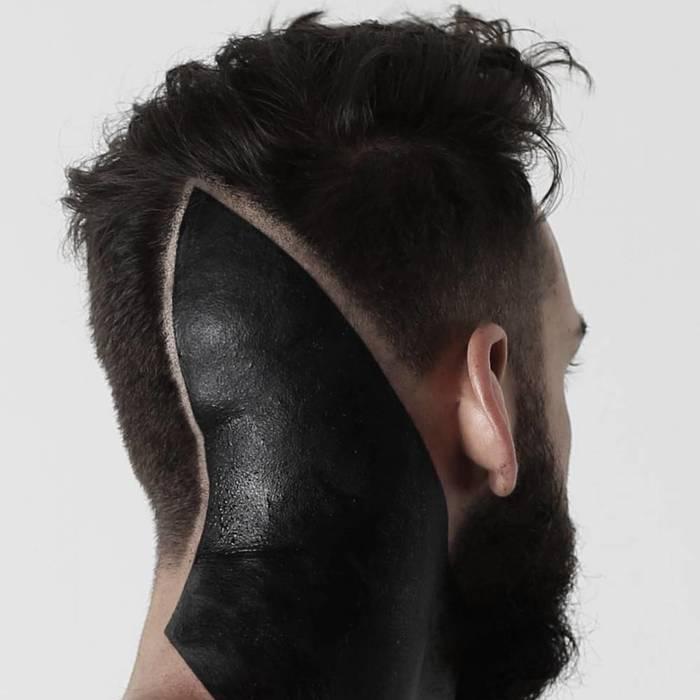 Это ж как накосячил парикмахер, что перекрыть можно было только блэк-вокром? Тату, Тату?, Прическа
