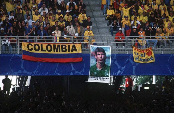 Считается, что Андреса Эскобара убили за автогол. Но все намного сложнее Эскобар, Колумбия, Сборная Колумбии, Происшествие, Странности, Длиннопост, Футбол