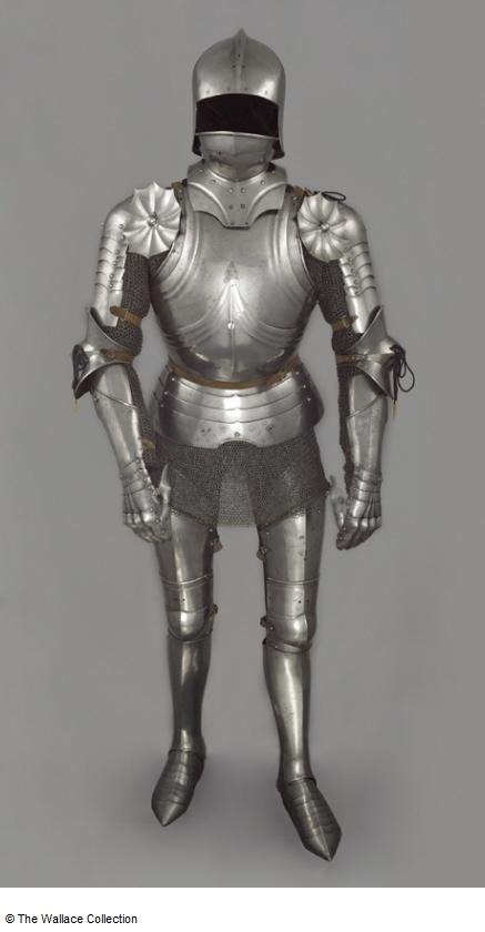 Готические доспехи. Доспехи, 15-й век, Готика, Фотография, Длиннопост, Музейная коллекция, Позднее средневековье