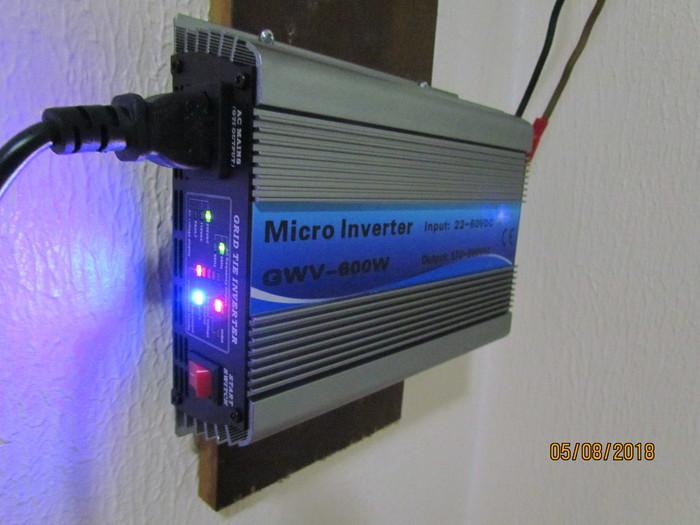 Мой первый Grid Tie Inverter начал трудиться. Экономия денег, Солнечная энергия, Солнечные Панели