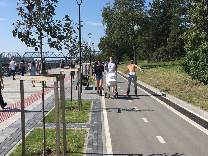 Пешеход vs непешеход Новосибирск, Пдд, Велодорожка, Длиннопост