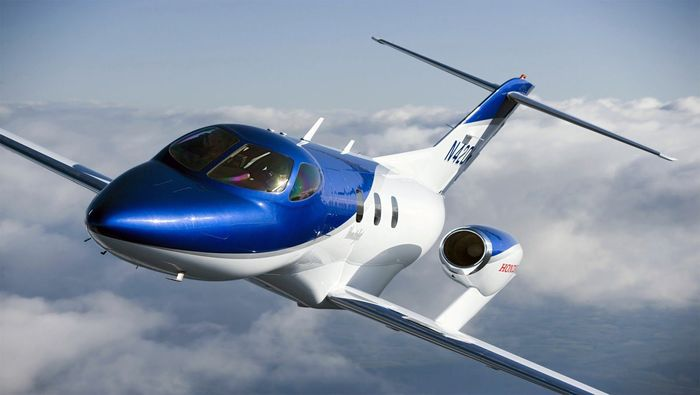 Honda тоже самолёт Самолет, Honda, Авиация, Из сети, Длиннопост, Видео