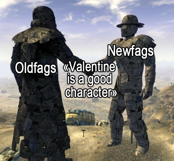 Соглашение Fallout, Fallout: New Vegas, Ник Валентайн, Игры, Компьютерные игры, Олдфаги, Ньюфаги