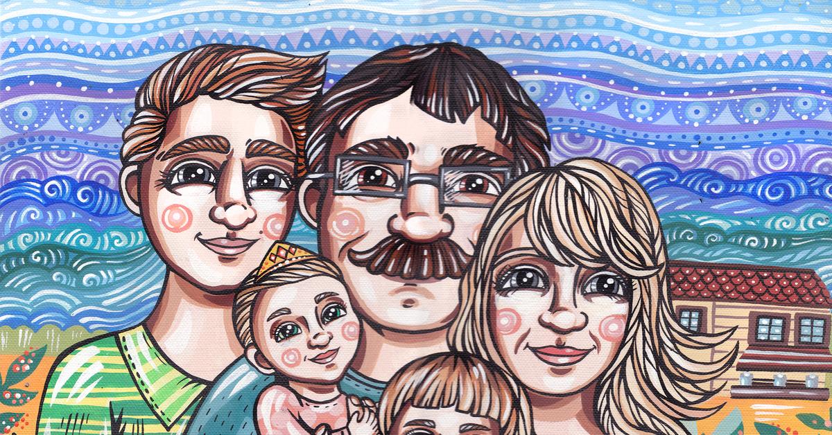 мне запомнились наша счастливая семья рисунки сайте собраны
