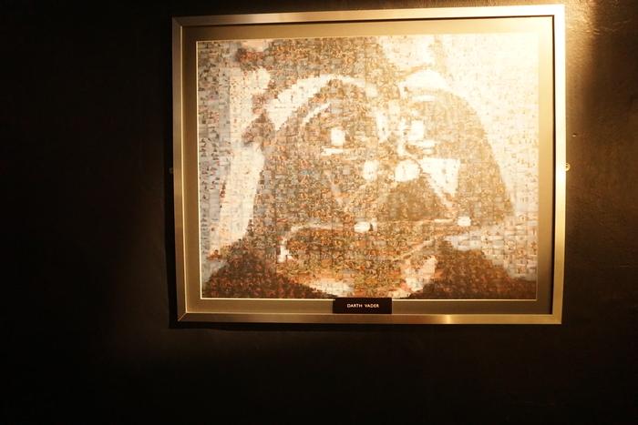 Дарт Вейдер из кадров Саги Дарт вейдер, Star wars, Картина, Коллаж