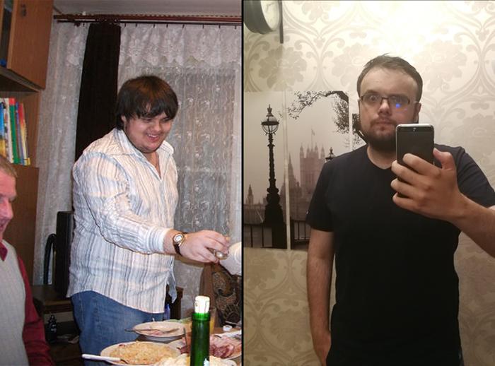Небольшая трансформация Жир, Похудение, Толстяк, Кость широкая