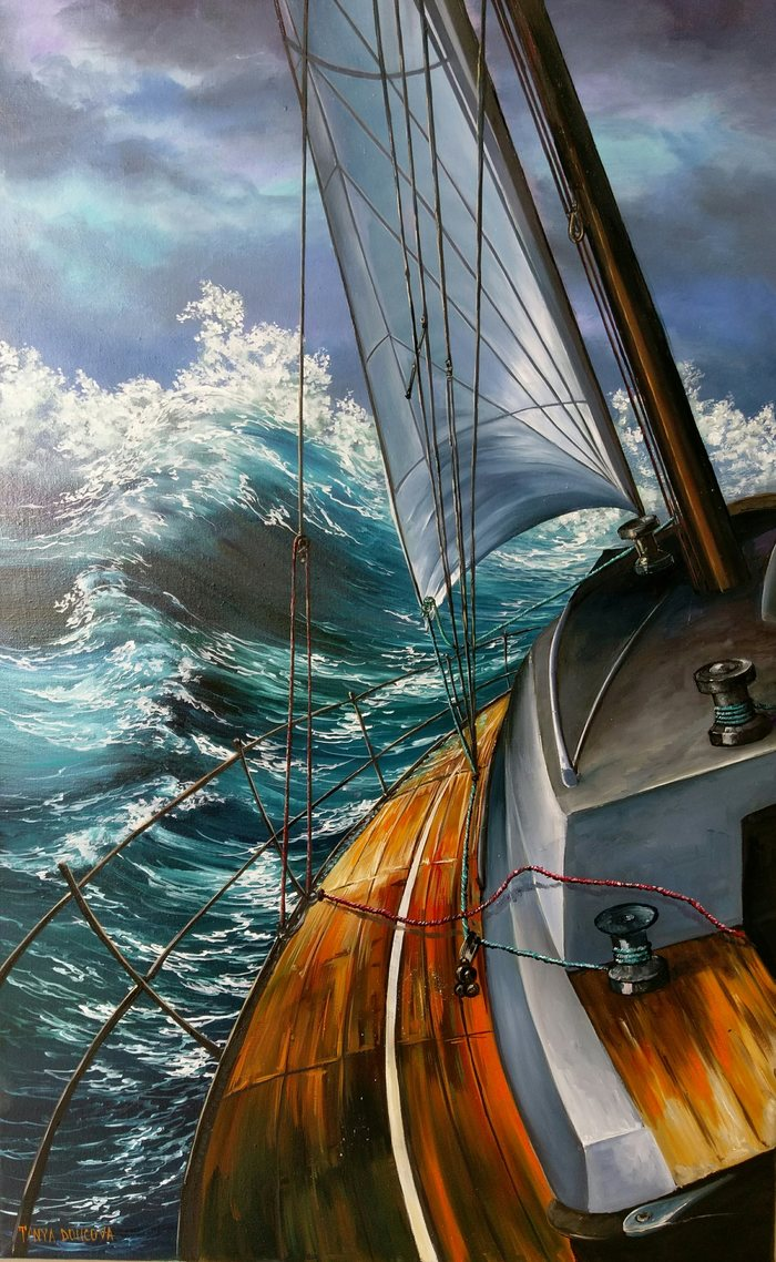 ТОТ СЛУЧАЙ КОГДА ПЫТАЕШЬСЯ ВЕРНУТЬСЯ на свою яхту в шторм - YouTube | 1138x700