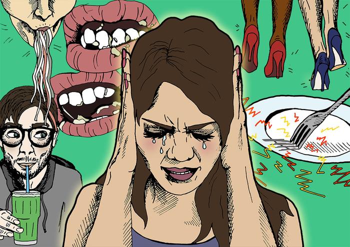 Что такое мизофония, или почему я не могу есть с людьми. Мизофония, Ярость, Психиатрия, Чавканье, Длиннопост