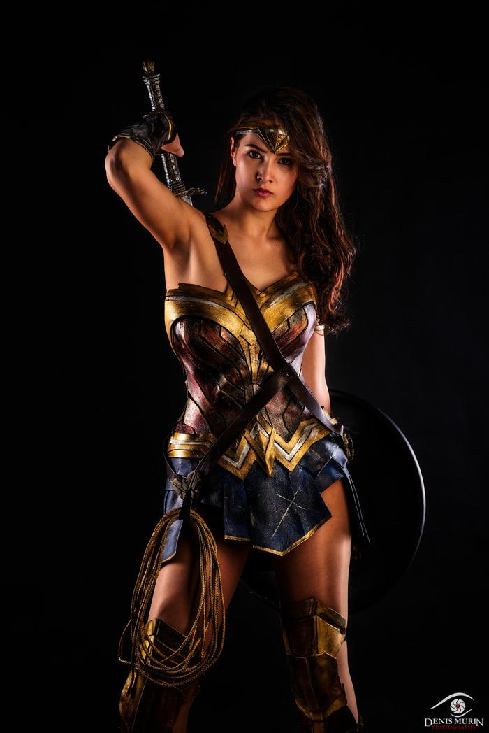 Wonder Woman Чудо-Женщина, Лига Справедливости, Косплей, Девушки, Фотография, Длиннопост