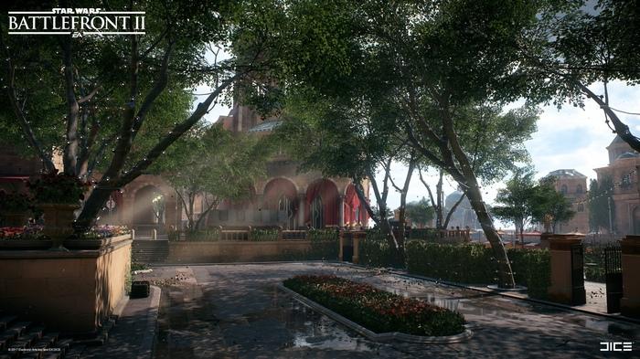 Такой красивый Тид, столица планеты Набу. Star wars, Battlefront 2, Dice, Ea games, Длиннопост