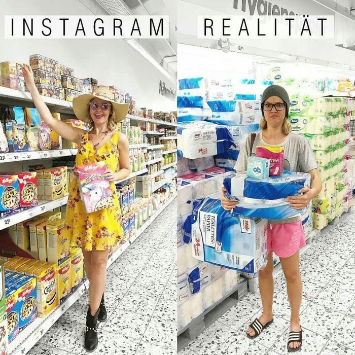 Instagram vs. реальность Instagram, Реальность, Ожидание и реальность, Юмор, Забавное, Интернет, Социальные сети, Длиннопост