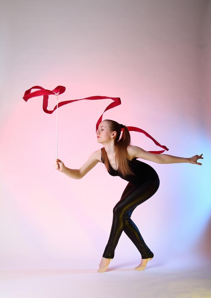 Лента. Фотография, Художественная гимнастика, Девушки, Длиннопост