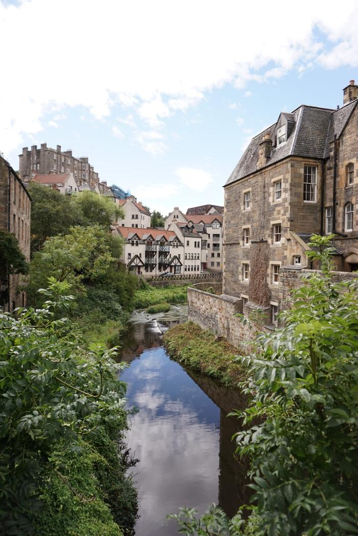 Dean Village, Эдинбург Фотография, Начинающий фотограф, Шотландия