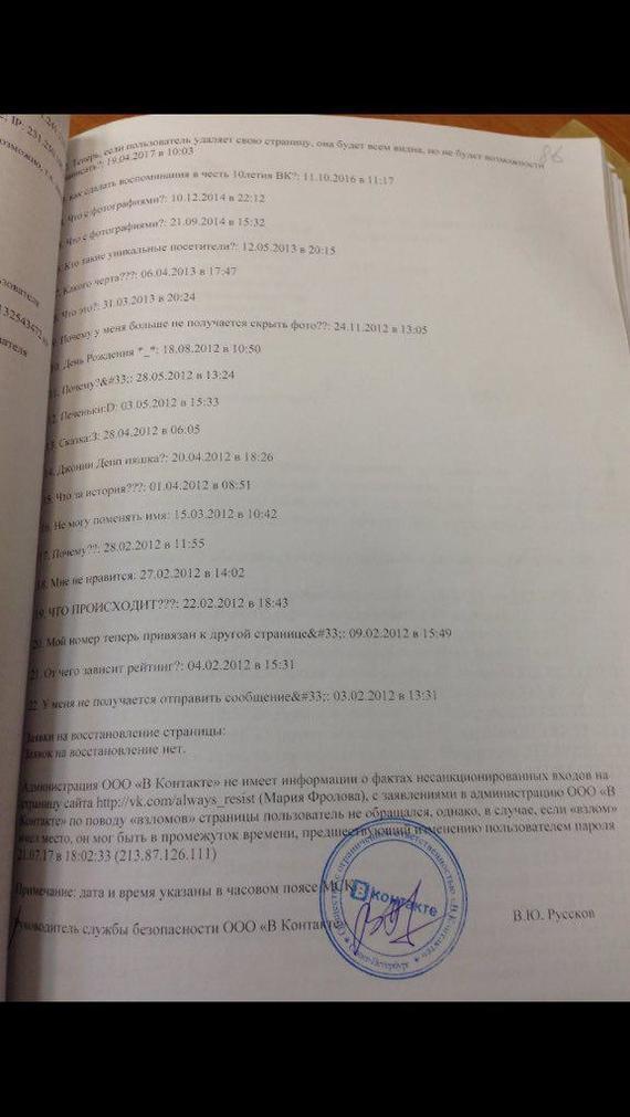 Что выдаёт ВКонтакте о пользователях товарищу майору ВКонтакте, Безопасность, Персональные данные, Мария Мотузная, Mailru, Длиннопост