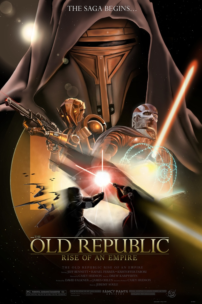 The Old Republic: Rise of an Empire Star wars, Kotor, Дарт Реван, Постер, Фанатское творчество