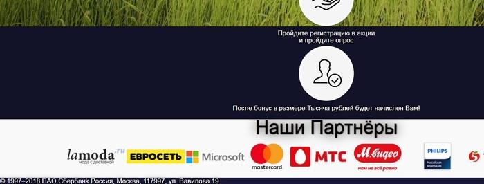 """Развод от """"СберБанка"""" - Халявные 1000 рублей! Длиннопост, Мошенники, Интернет, Сбербанк, Деньги"""