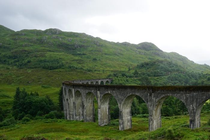 В ожидании Хогвартс Экспресс Фотография, Начинающий фотограф, Виадук, Шотландия, Гарри Поттер, Железная Дорога
