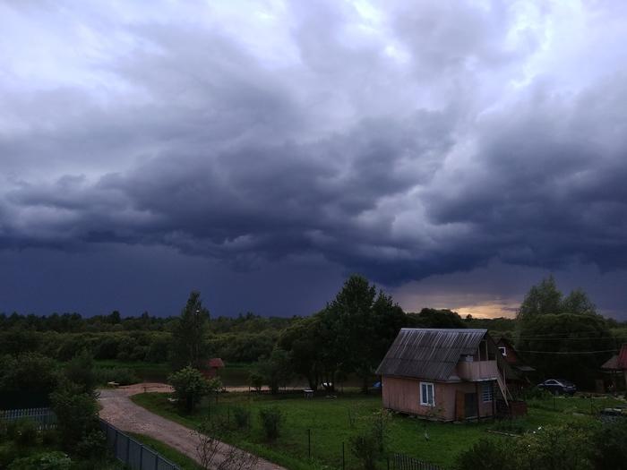 Стихия Гроза, Природа, Дождь