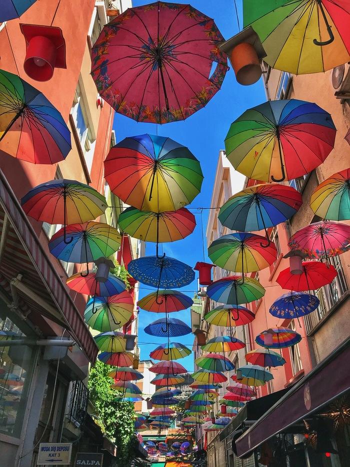 Яркие закоулки Улица, Закоулок, Фотография