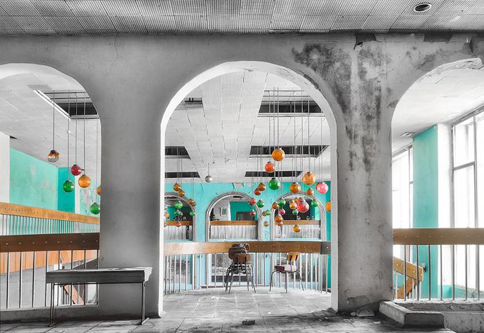 Антуражный заброшенный советский Дом Культуры Урбанфото, Заброшенный дворец культуры, СССР, Назад в СССР, Длиннопост