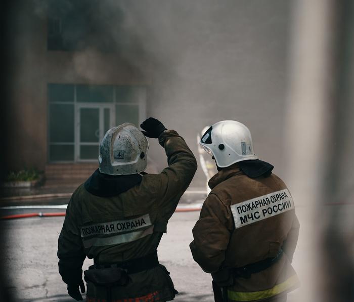 Мужская работа. Пожар, Пожарные, МЧС, Огонь, Липецк, Длиннопост, Фоторепортаж