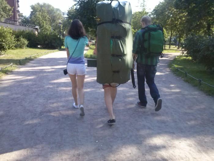 Кто-то поехал с девушкой в поход. Туризм, Любовь, Жалкопарня