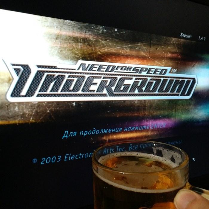 Почувствуй себя старым: NFS Underground - 15 лет. И всё-таки - это классика...