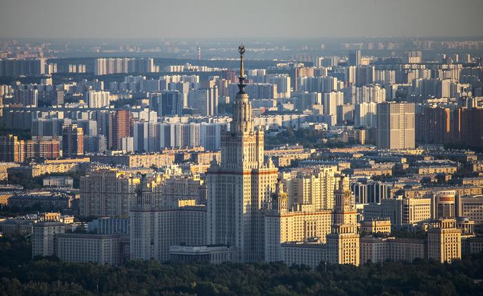 Москва с высоты 354 метров Москва, Фотография, Длиннопост