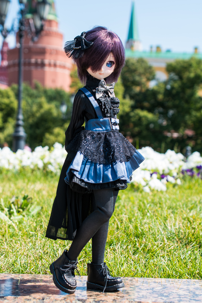 DollfieDream - Ирис, Манежная площадь. DollfieDream, MiniDollfieDream, Шарнирная кукла, Фотография, Хобби, Длиннопост