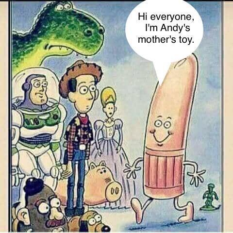 Всем привет! Я новая игрушка мамы Энди