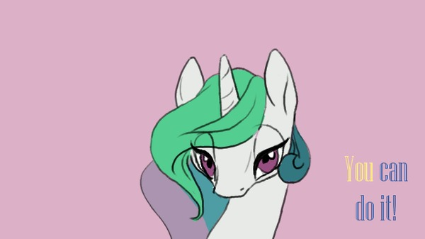 Мотивирующая Селестия My Little Pony, Princess Celestia, Гифка