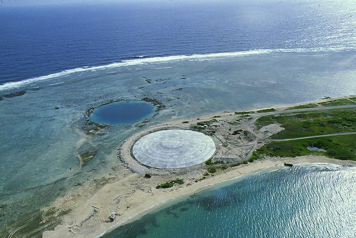 """Купол """"Кактус"""" Туризм, Заброшенное, Ядерное оружие, Ядерный взрыв, Необитаемый остров, Длиннопост"""