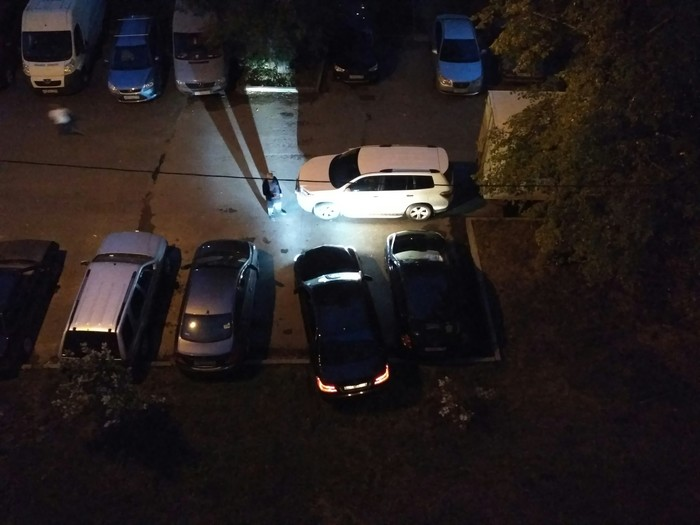 Бог все видит Неправильная парковка, Ирония судьбы, Записки, Карма, Длиннопост