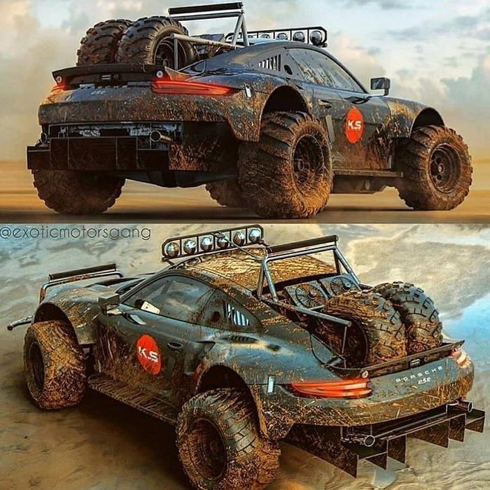 Porsche 911 внедорожник
