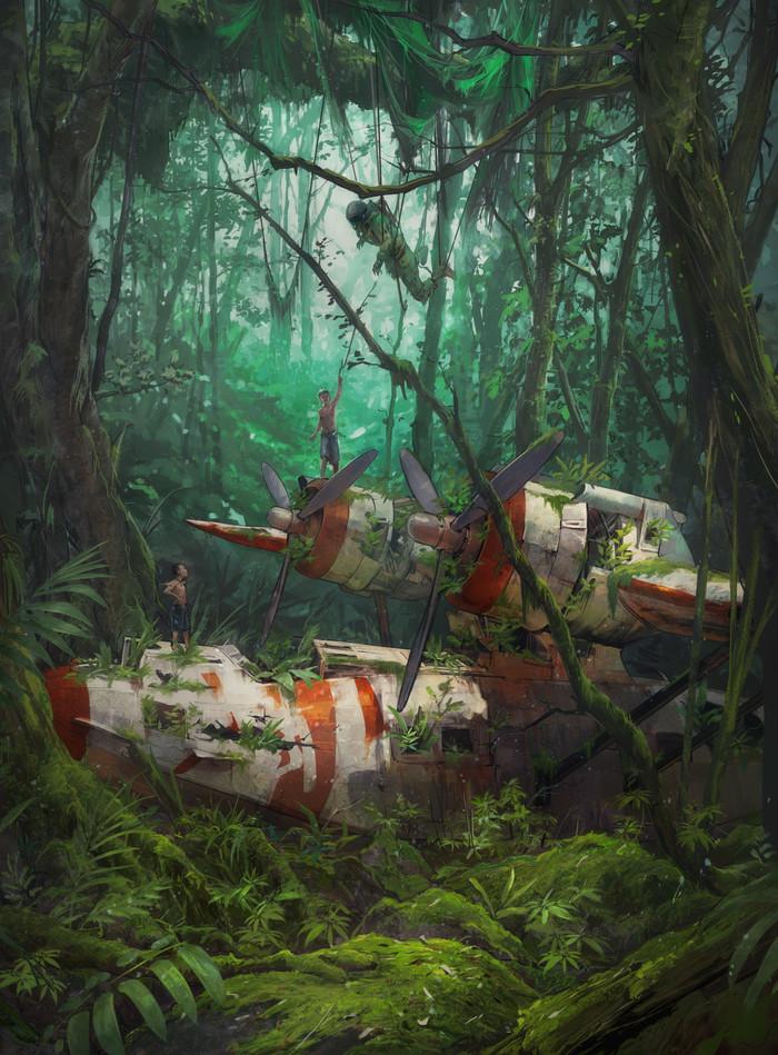 Jungle Арт, Джунгли