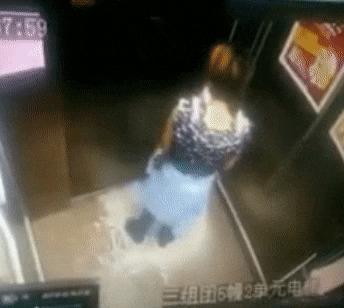 Бойся лифтов, особенно если они Китайские Жесть, Лифт, Подборка, Разное, Гифка, Длиннопост