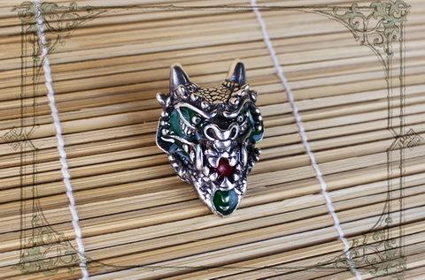 Моё новое творение дракон с ручной росписью Дракон, Творчество, Ювелирные изделия