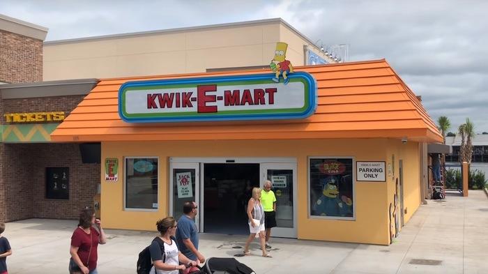 Настоящий KWIK-E-MART Симпсоны, Kwik-e-Mart, Магазин, Длиннопост
