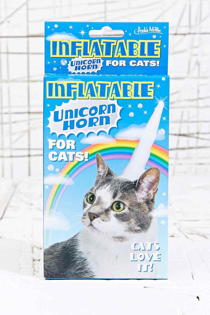 Позли котика, порадуй тапки! Кот, Единорог, Рога, Костюм, Фейк ради смеха, Длиннопост