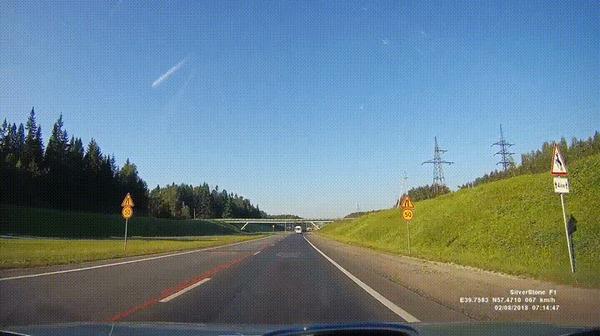 Внезапно #36 ДТП, Ярославская область, Внезапно, Трасса, Красивый вид, Гифка, Видео