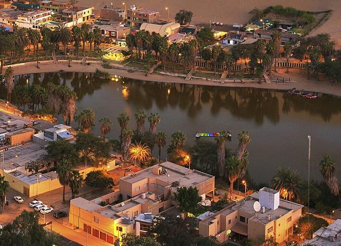 Город - Оазис Пустыня атакама, Оазис, Чили, Атакама, Пустыня, Красота, Природа, Перу, Длиннопост