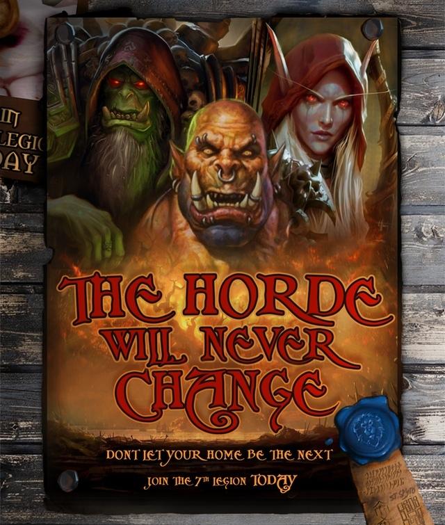 И снова пропаганда Альянса World of Warcraft, Battle for Azeroth