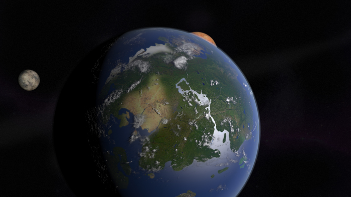 Размеры Нирна Игры, The Elder Scrolls, Древние свитки, Skyrim, Планета, Космос, Расчет, Длиннопост, Физика