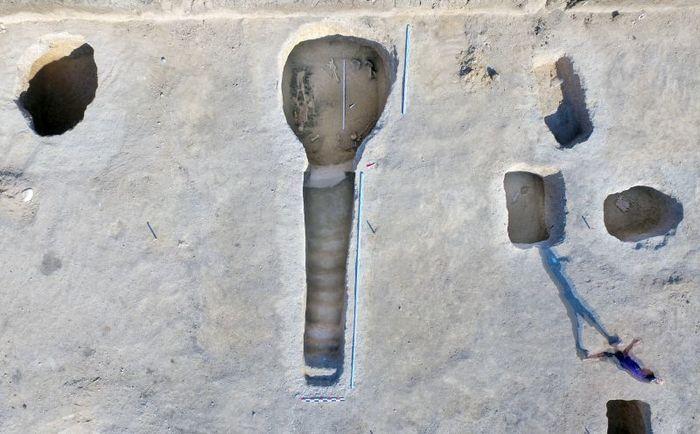 Археологические открытия 2018 года. Могильник Фронтовое-3. Длиннопост, Археология, Некрополь, Античность