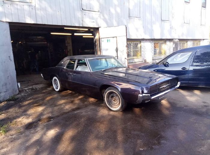Реставрация автомобиля Ford Thunderbird 67 в 2019 году