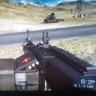 Про 5 патронов Battlefield 4, Игры, Гифка