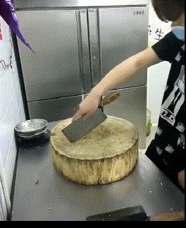 Трюкач Трюк, Нож, Тесак, Гифка, Азиаты