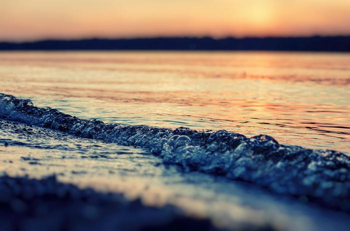 Красные Пожни. Волга. Закат Река, Закат, Паром, Вода, Длиннопост
