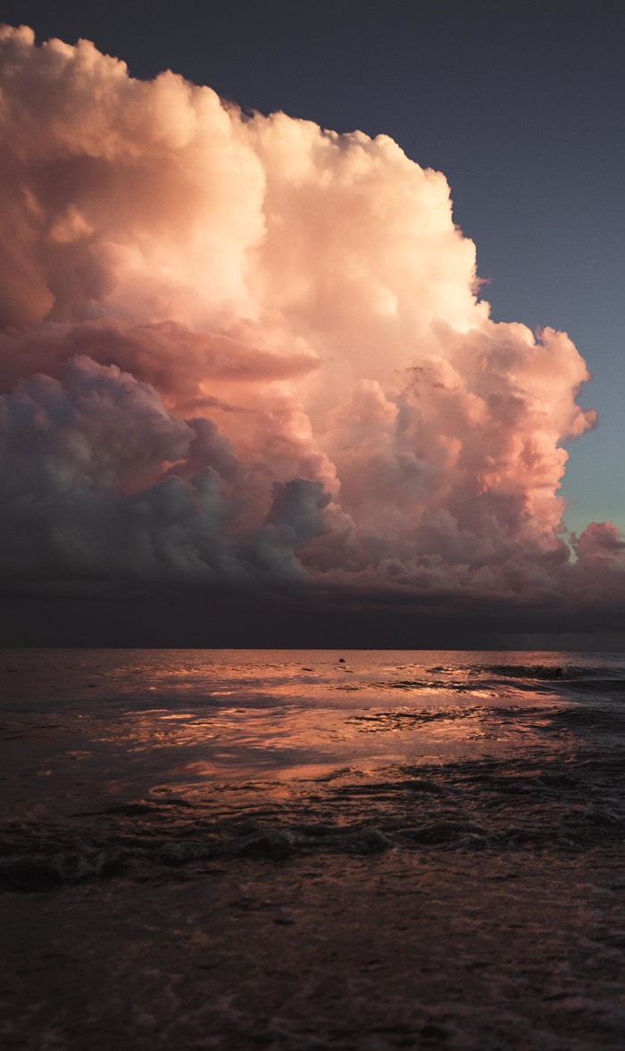 Закат в Сочи Закатище, Облака, Природа, Красота, Сочи, Закат, Море, Черное море