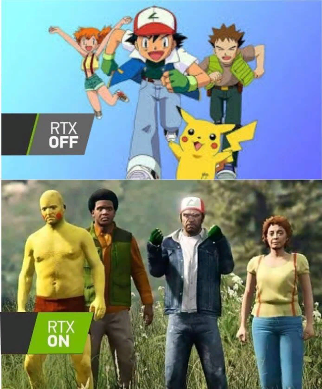 RTX off/on